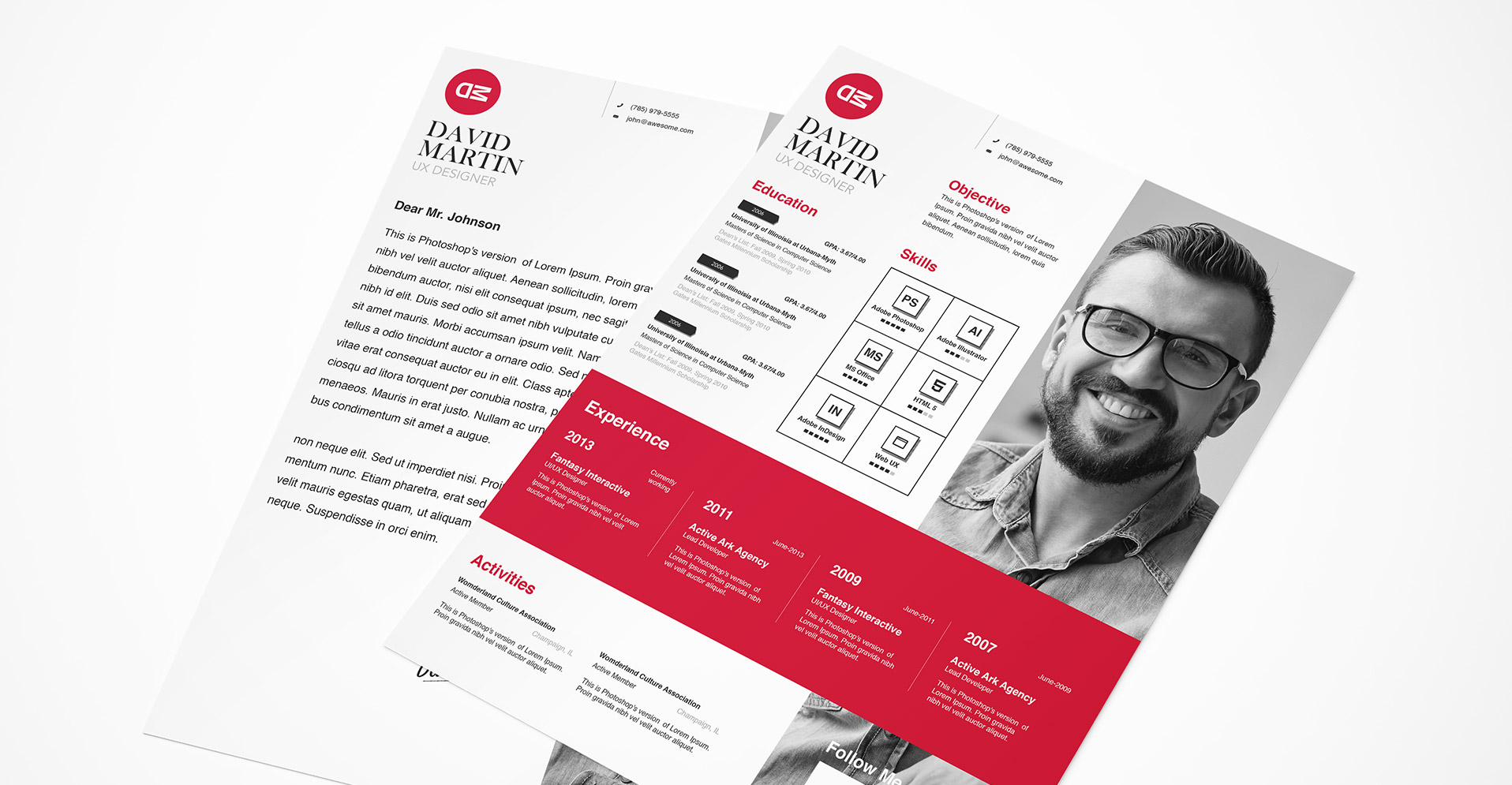 resume templates bundle zippypixels creative business resume