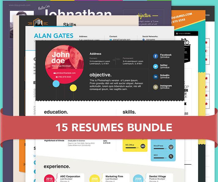15 resume templates