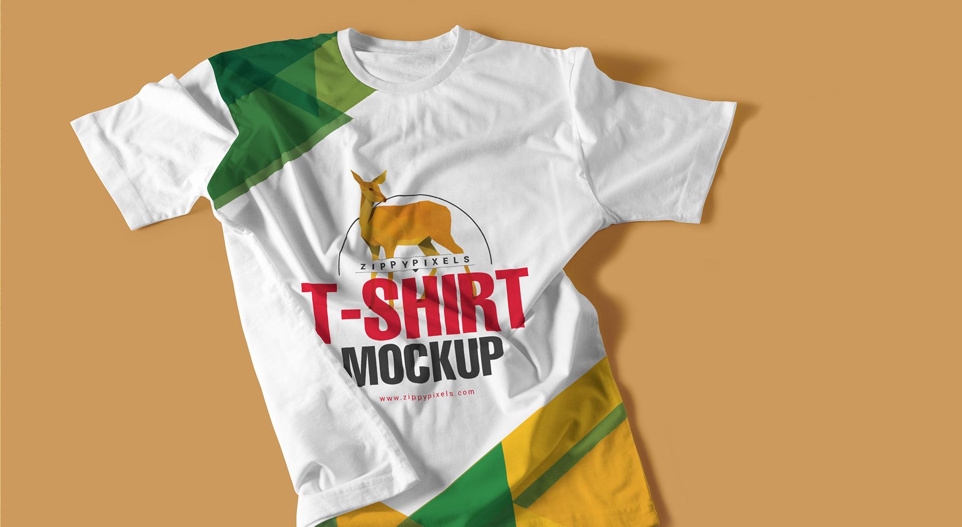 Round neck tshirt mockups vl 3