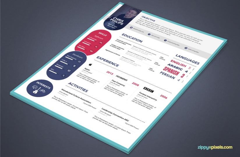 free elegant resume cover letter psd template premium ms word format - Resume Cover Letter Free