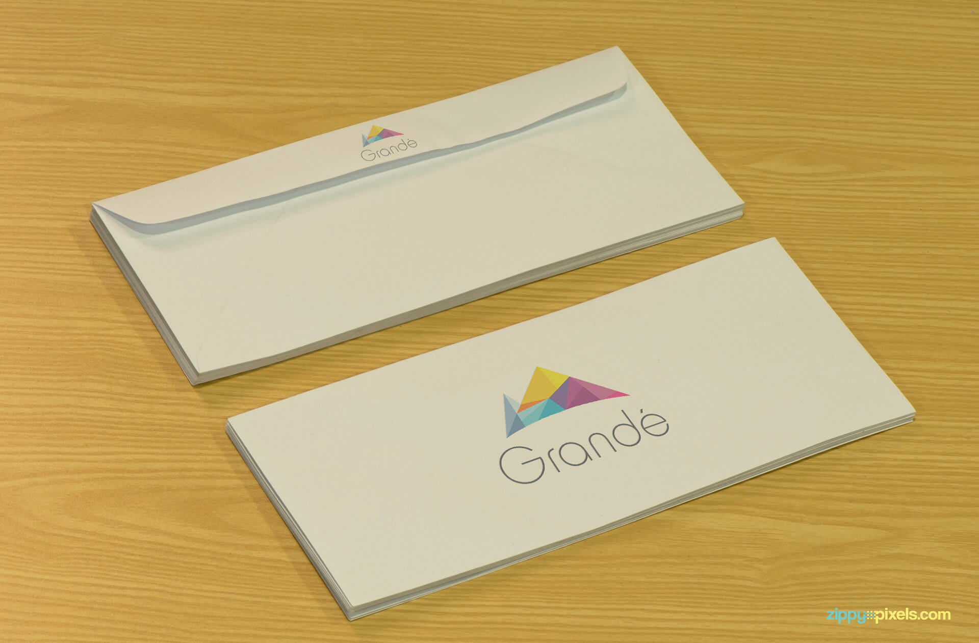 Mockup of Logo Printed Envelope