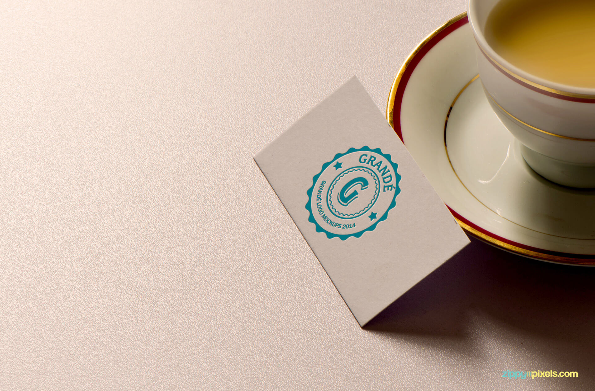 Business Card for Logo Mockup