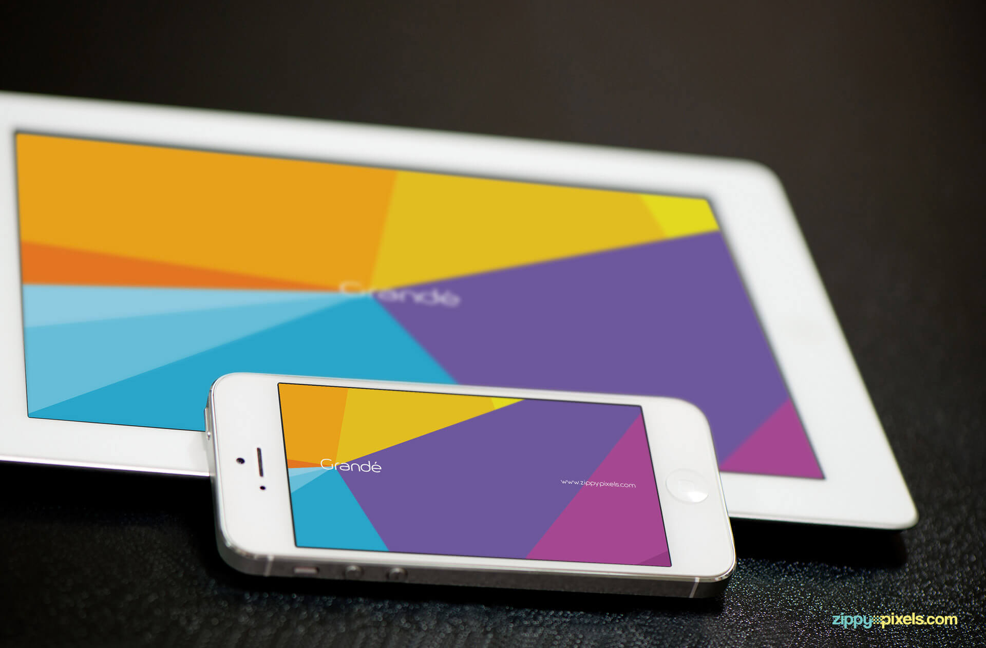 iPhone and iPad Mockup for app and branding presentations