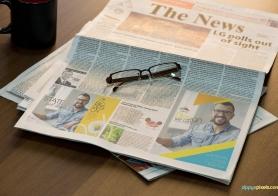 Newspaper Advertising Mockups Volume 2 [13 PSD Mockups]
