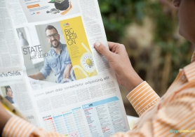 Newspaper Advertising Mockups Volume 1 [12 PSD Mockups]