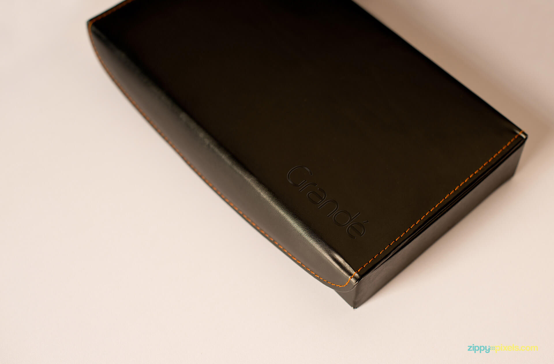 Leather Box Mockup for Brand Identity