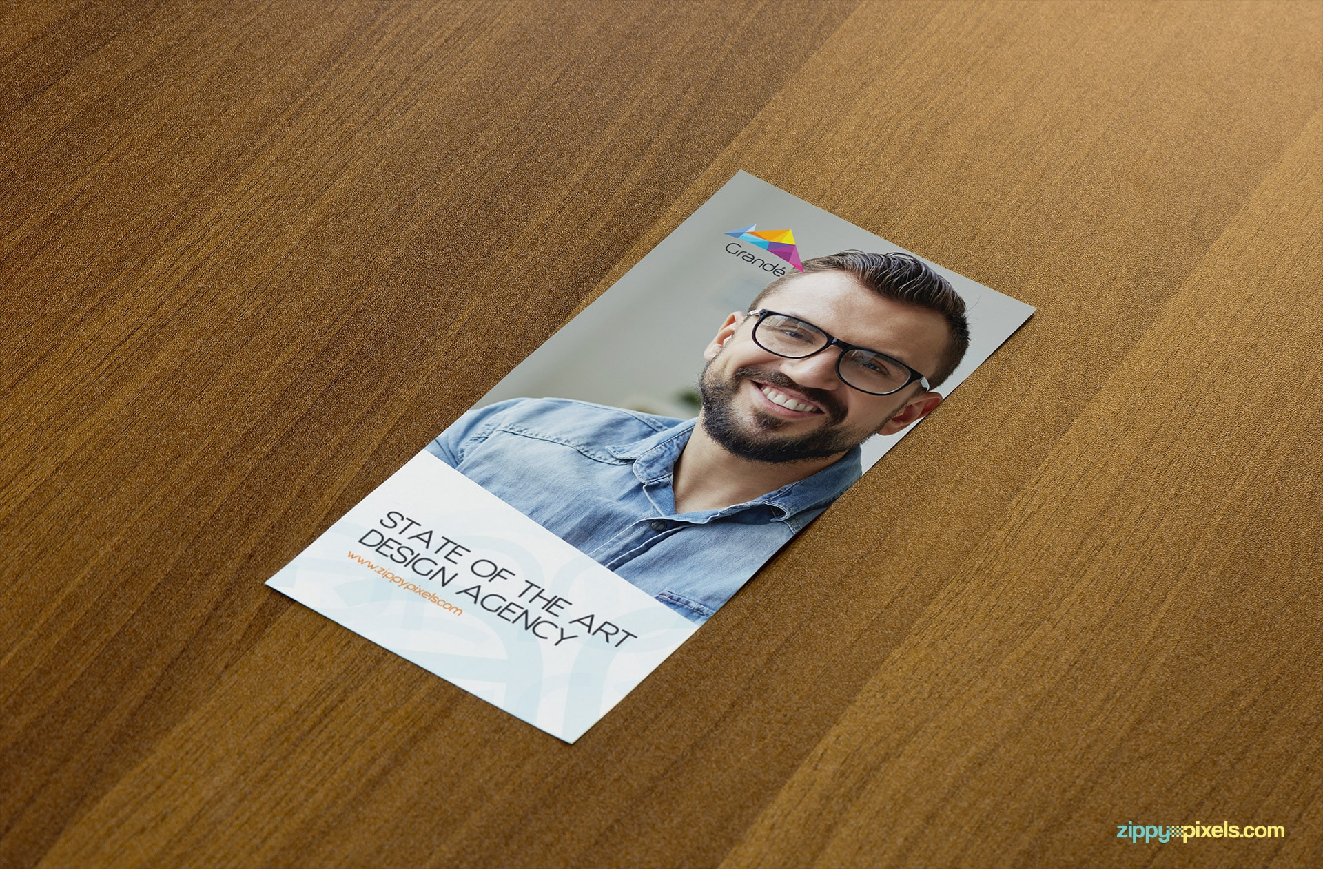 Single Page Flyer Mockup
