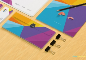 Photorealistic Stationery PSD Mockups Vol 4 [11 PSD Mockups]