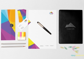 Photorealistic Stationery Mockups Vol 2 [10 PSD Mockups]