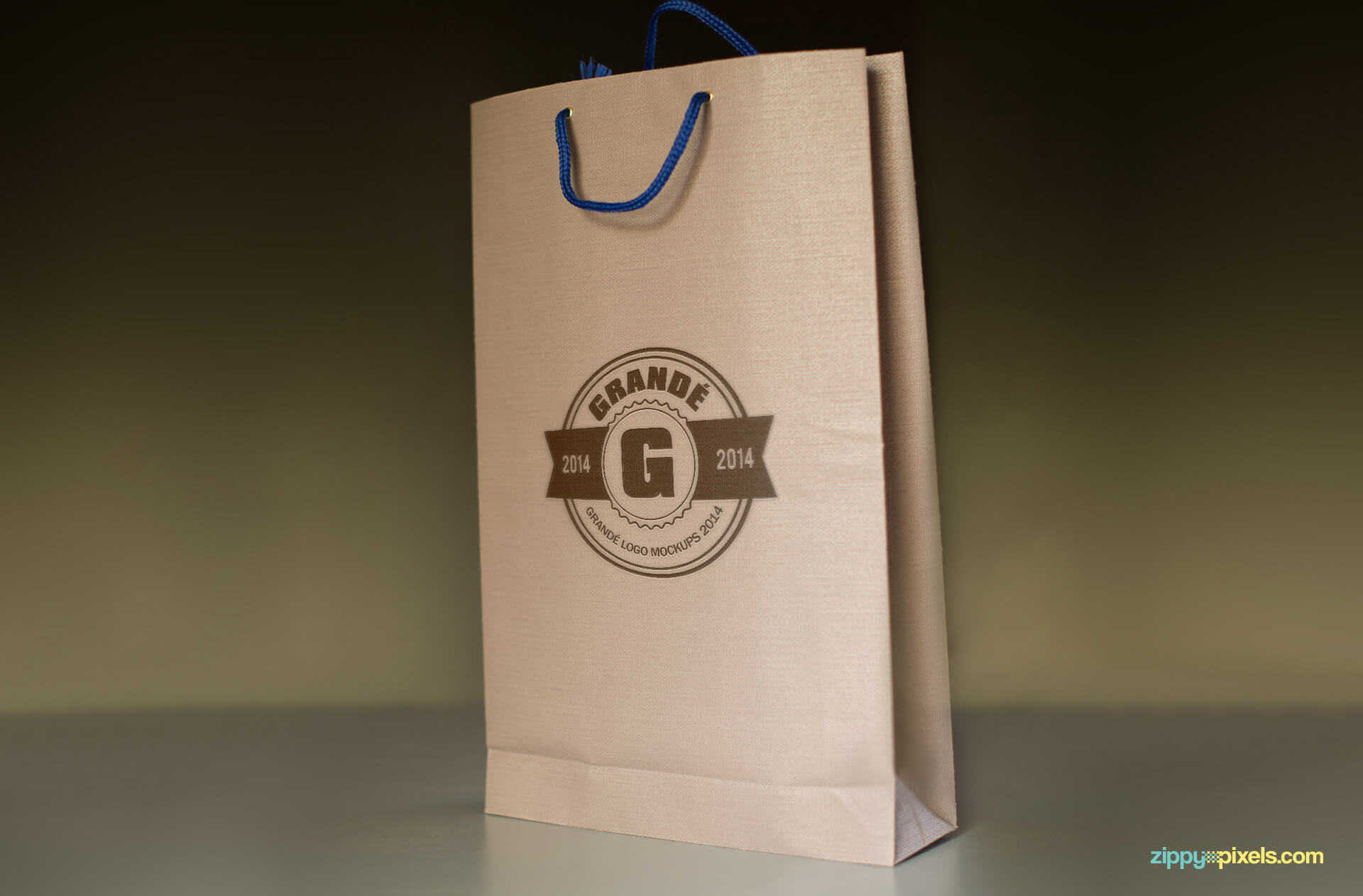Branded Shopping Bag Mockup