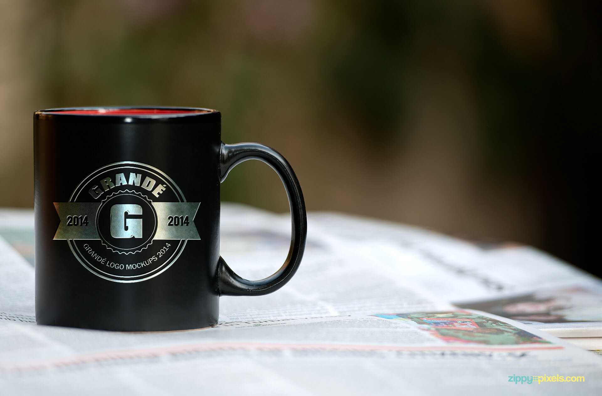 Coffee Mug Mockup for Brand Identity