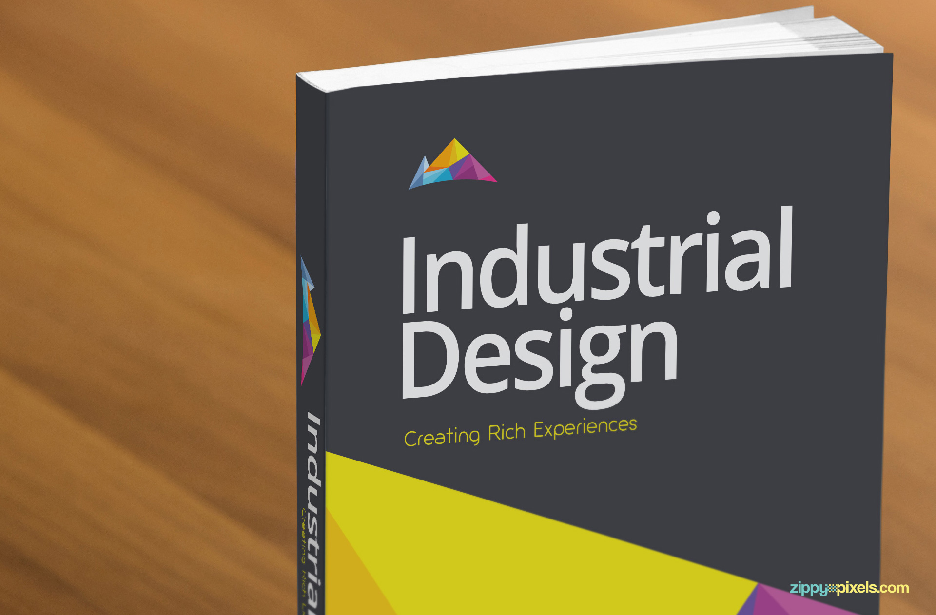 Free book cover mockup psd mockup for book and novel for Design a book jacket template