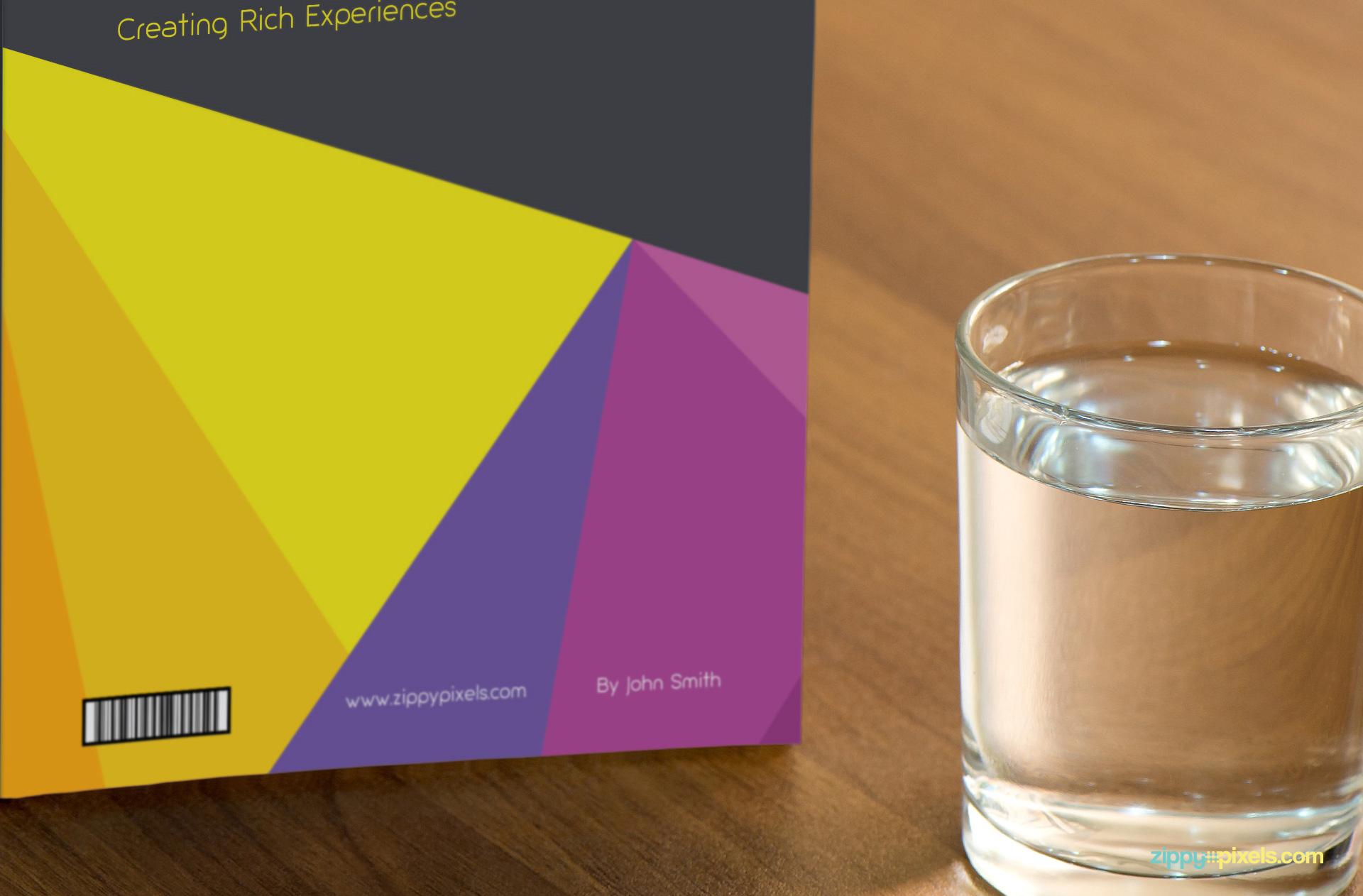 Free Book Cover Mockup screenshot 02