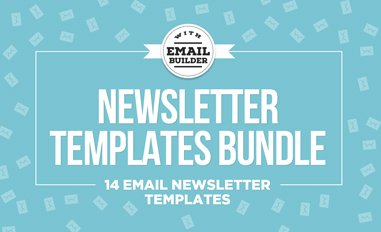 Email newsletter templates bundle thumbnail