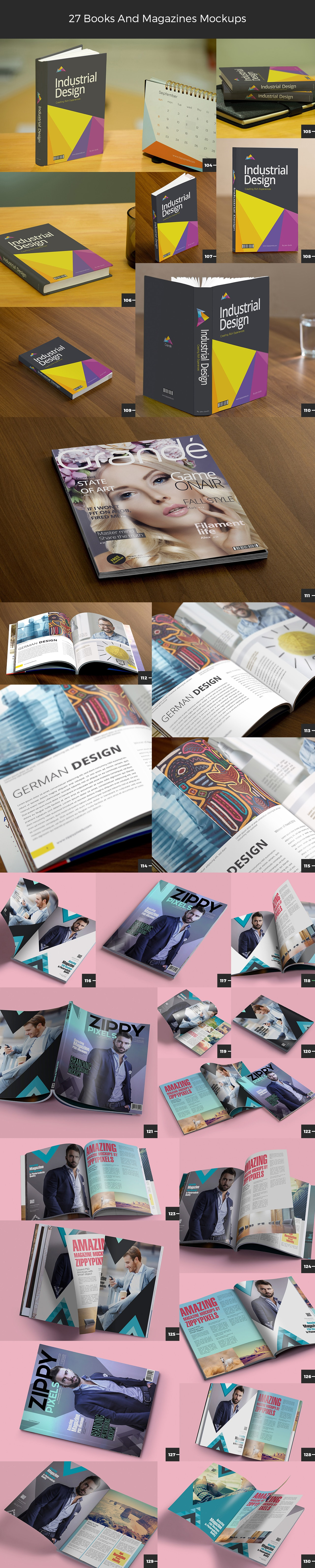 books-magazine-mockups