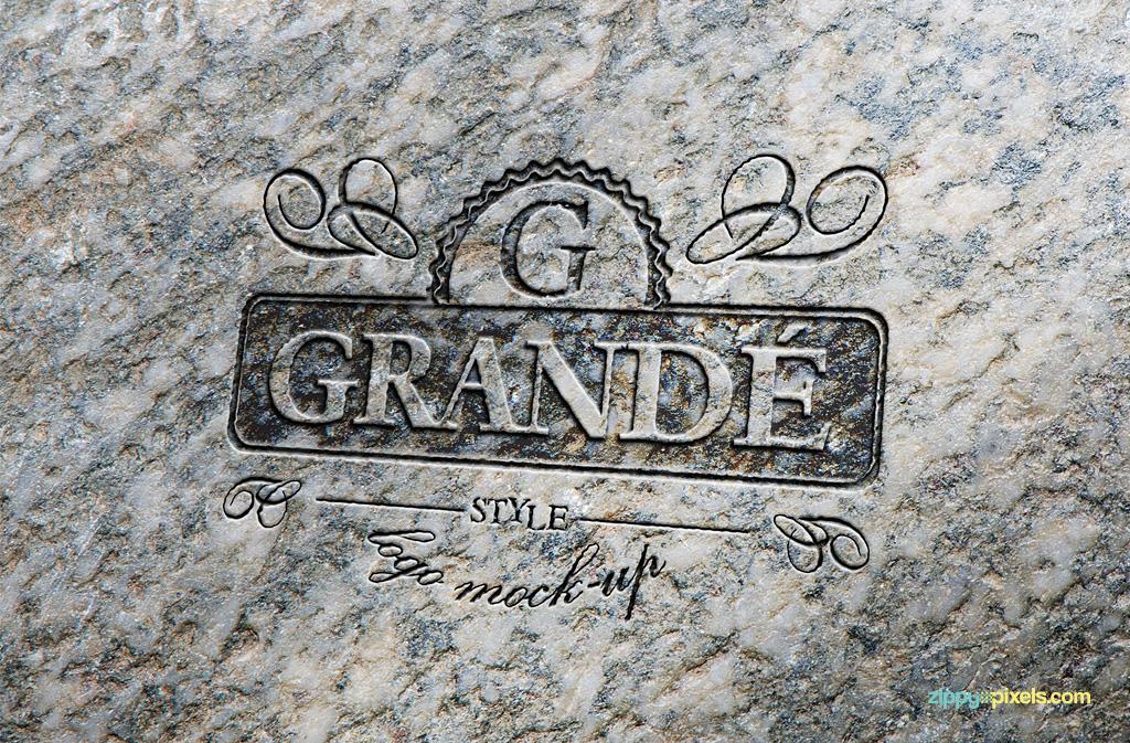 free-logo-mockup-stone