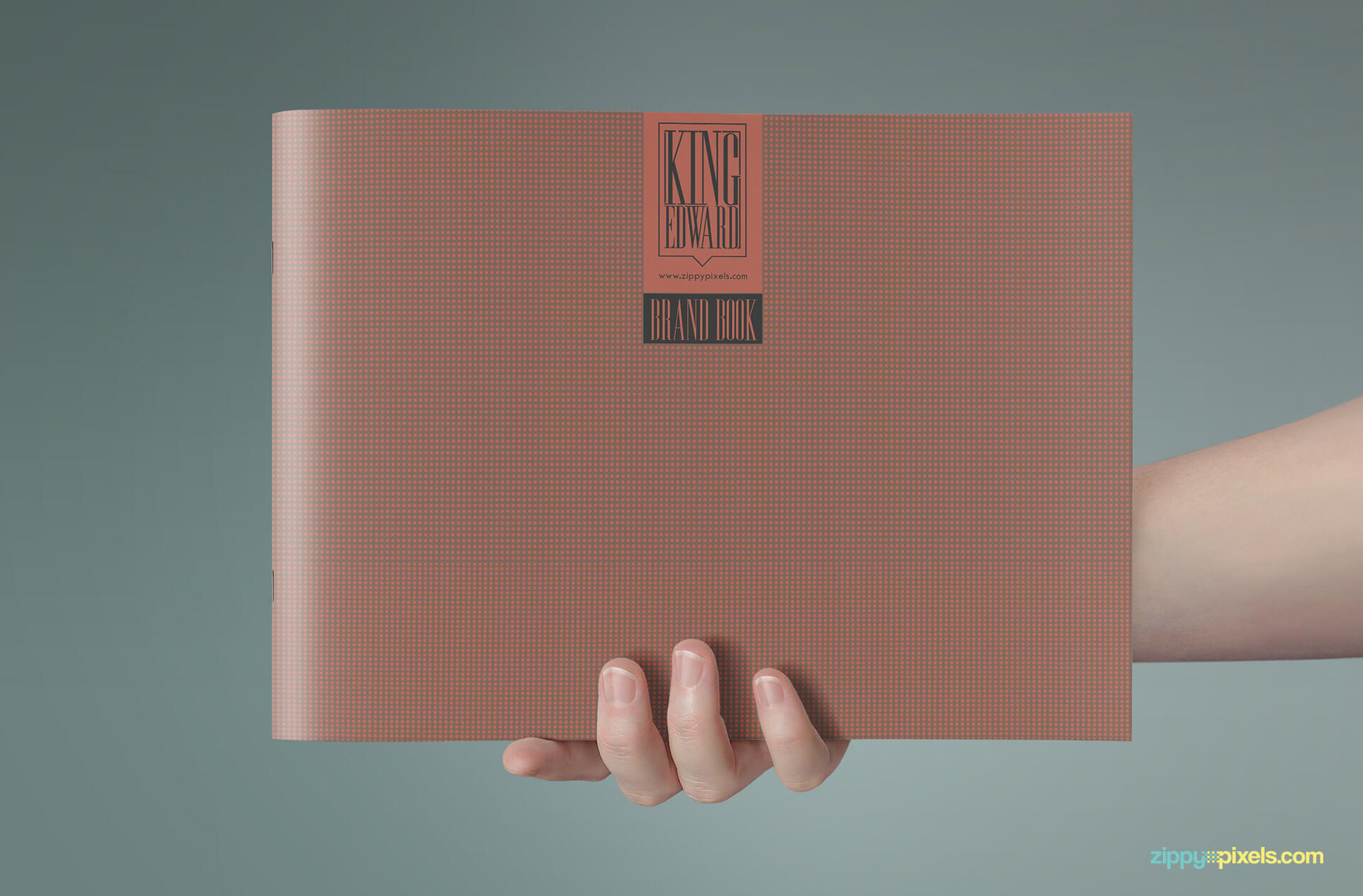 Front Cover of Brand Book - Brand Guidlines Template