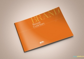 The Original Orange – Brand Book Template for Brand Guidelines