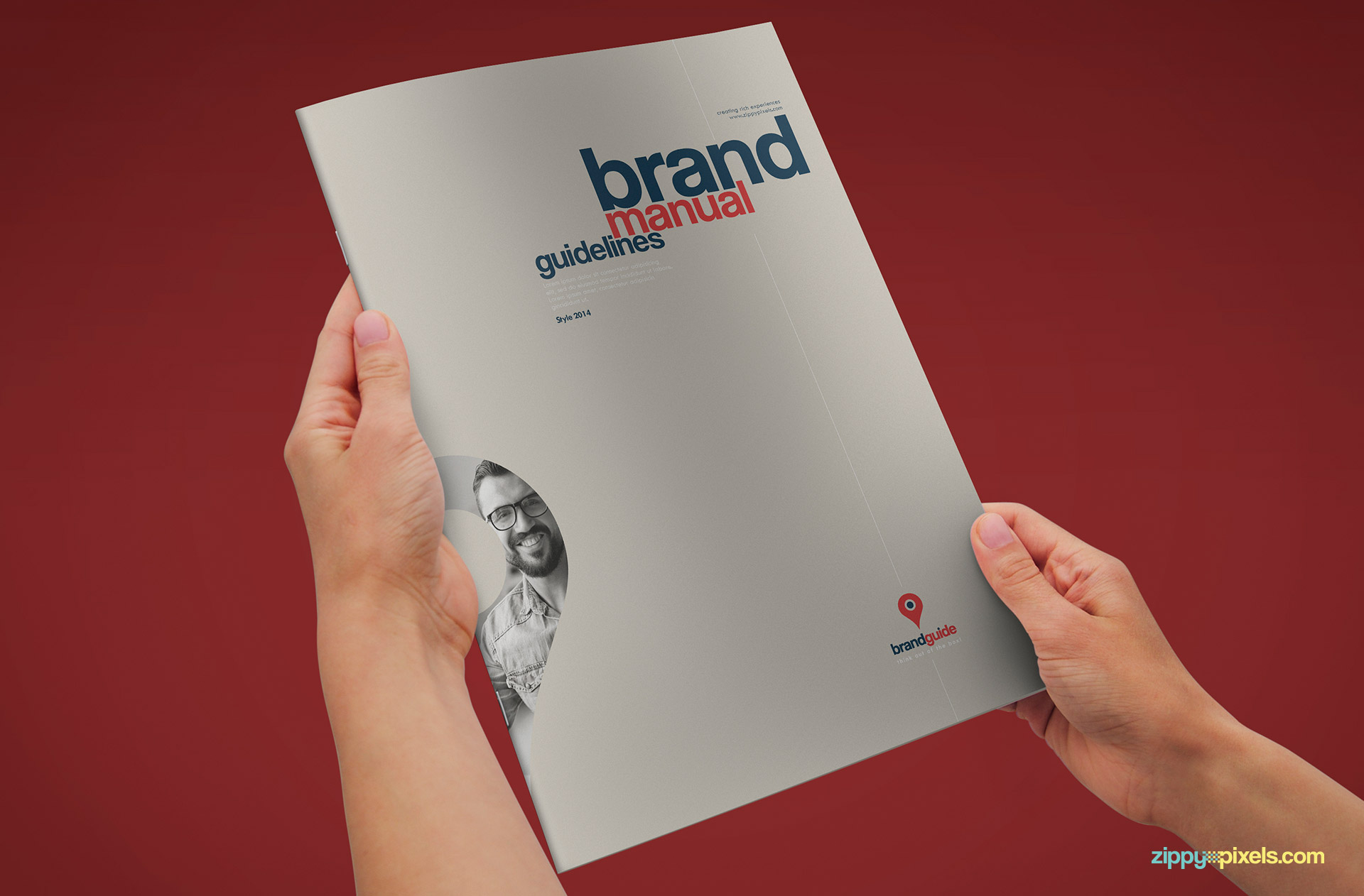 Professional Brand Guidelines Template