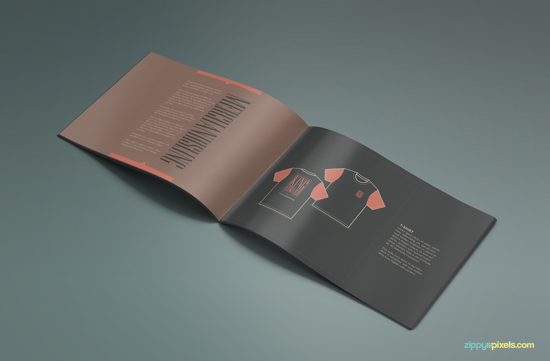 Brand Book - Brand Guidlines Template-Merchandising Page 1