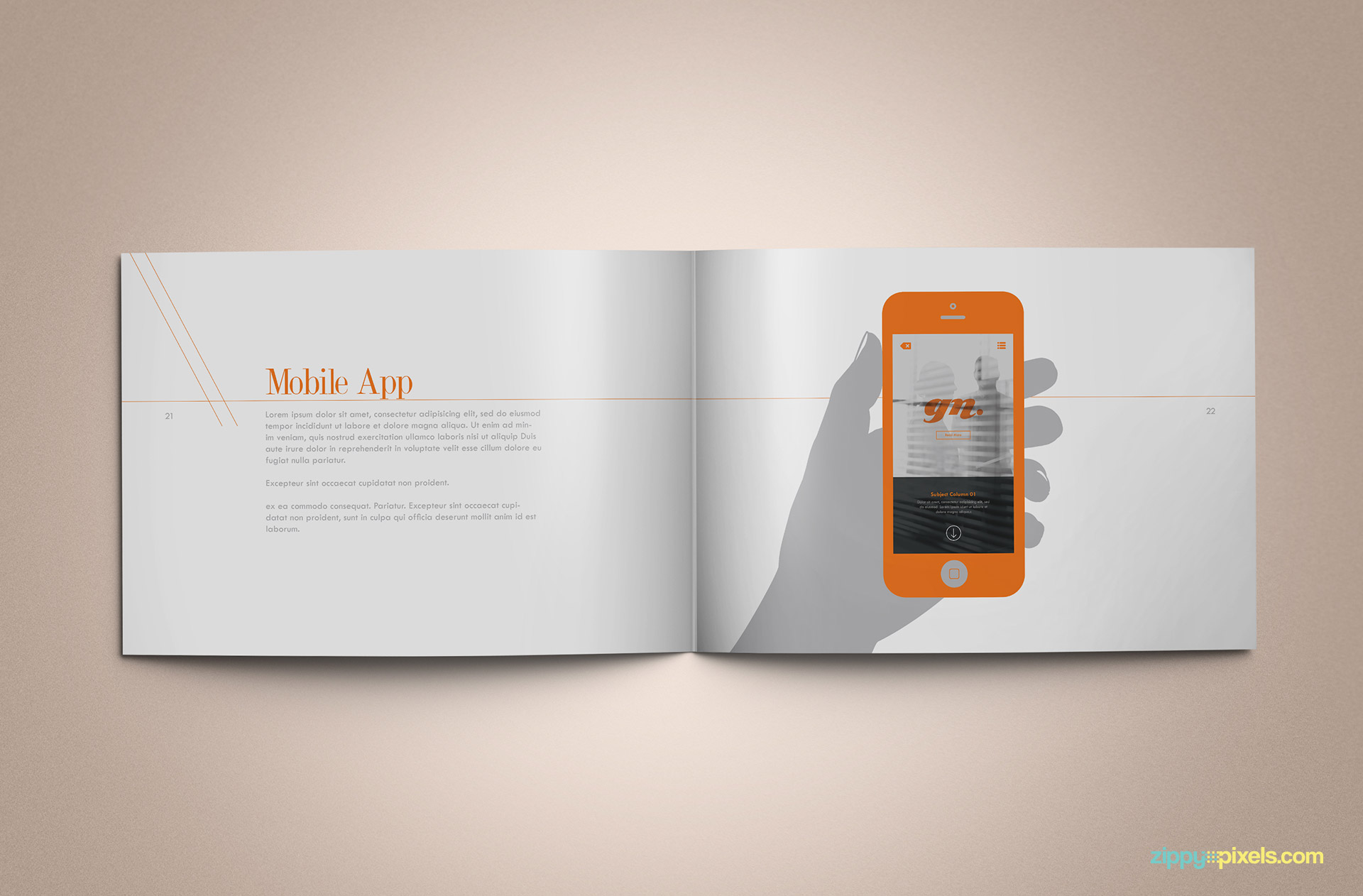 brand manual template free download