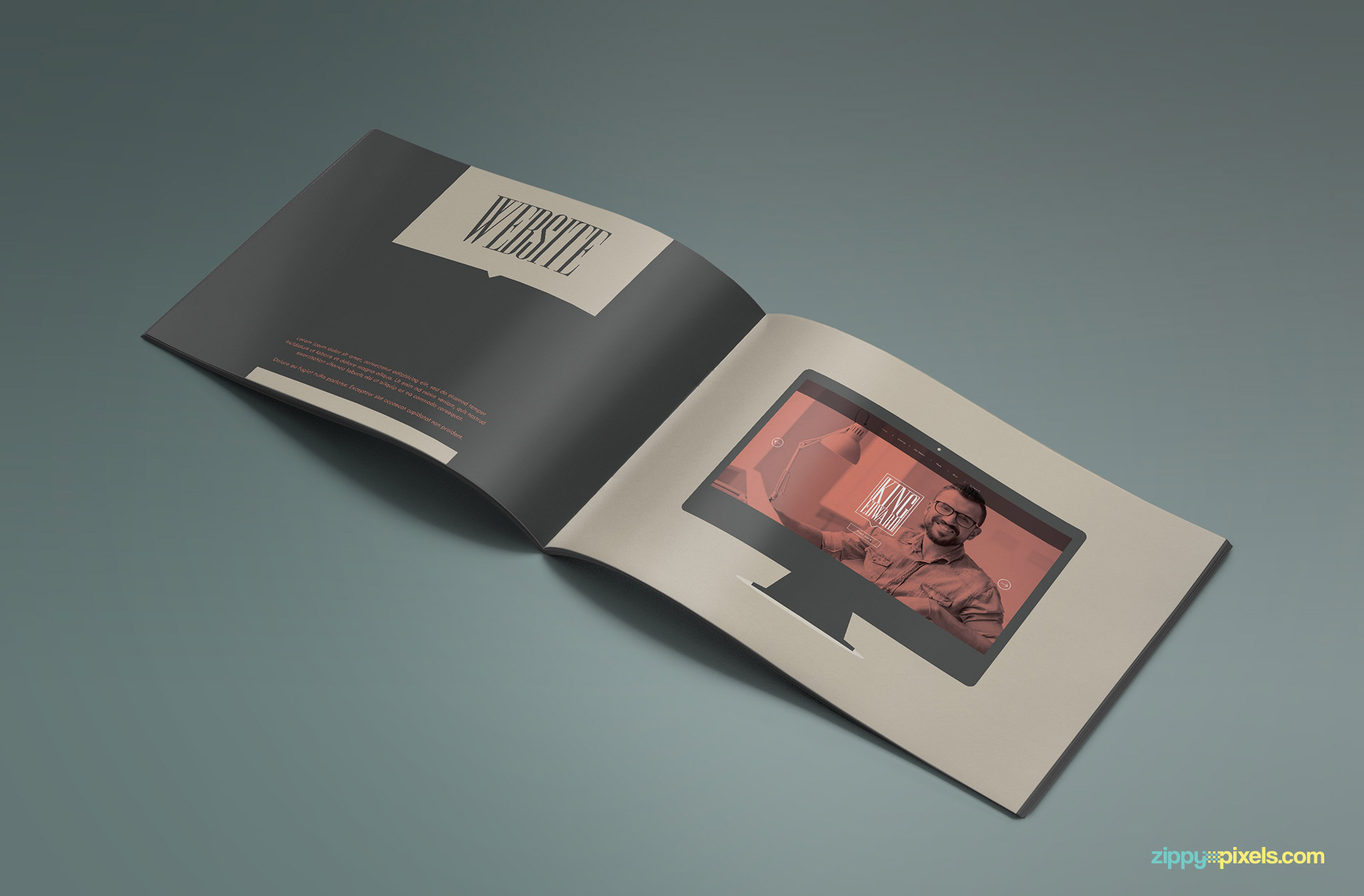 Brand Book - Brand Guidlines Template-Website Guidelines Page