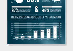 Business & Financial Performance Infographics Template