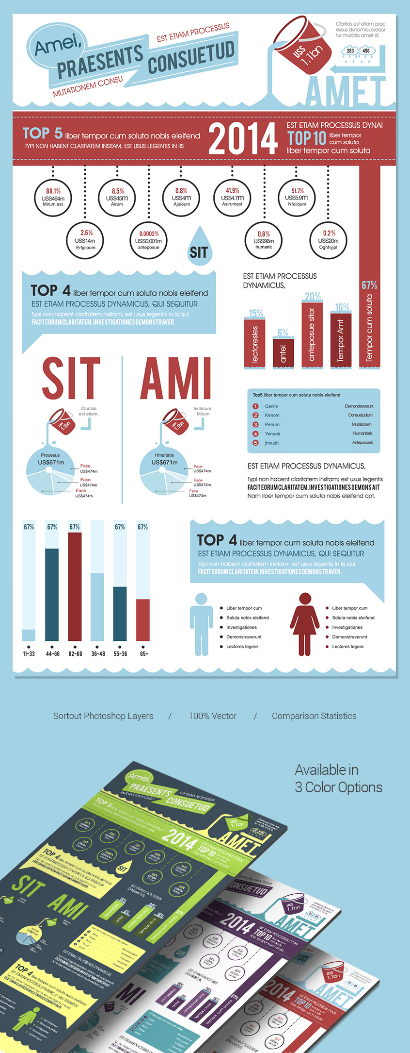 Free-infographics-template-water-presentation
