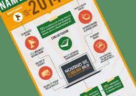 Flowchart Infographics PSD Template
