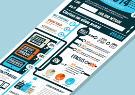Element Rich Business Infographics Template – 3 Color Options