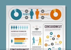 Comprehensive Infographics PSD Template