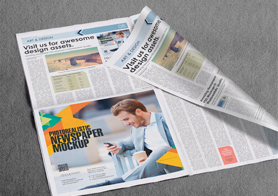 Professional Newspaper Mockups Volume 4 [13 PSD Mockups]
