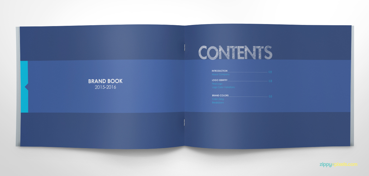 Brand style guide template word