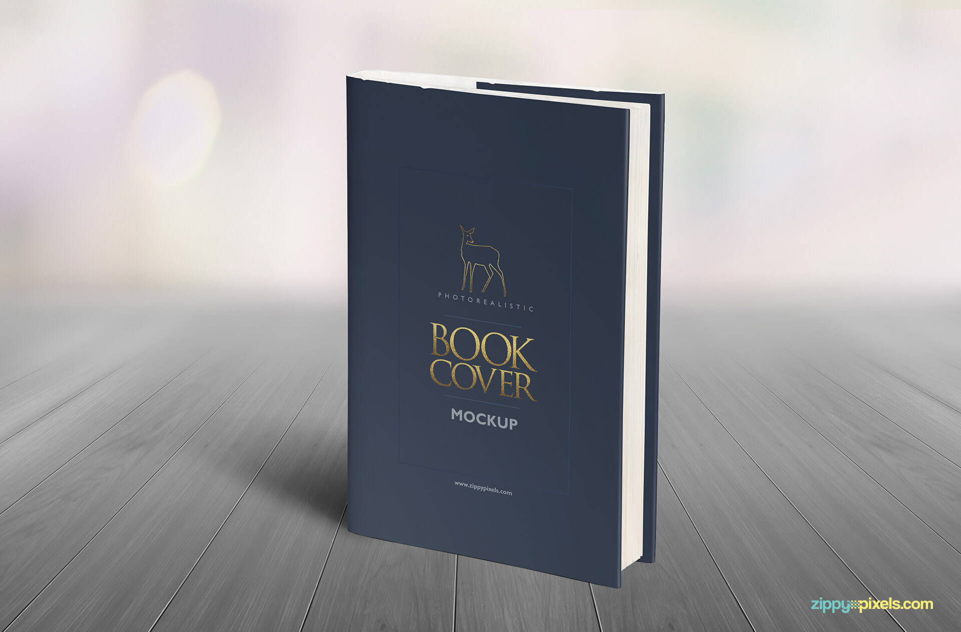 Book Coverage : Realistic hardcover book mockups zippypixels