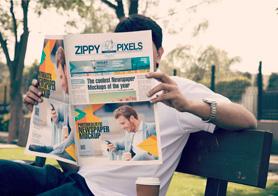 Beautiful Outdoor Newspaper Ads Mockups Volume 6 – [13 PSD Mockups]