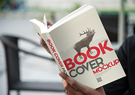 15 Photorealistic Paperback Book Cover Mockups