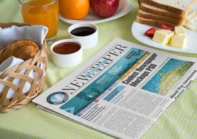Stunning Newspaper Ad Mockups Volume 7 – Breakfast Edition [15 PSD Mockups]