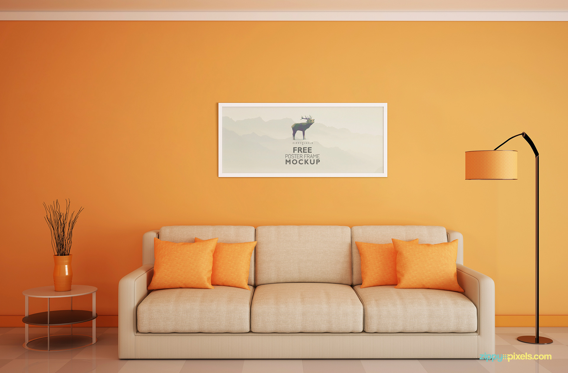free-photo-frame-mockup-horizontal-view