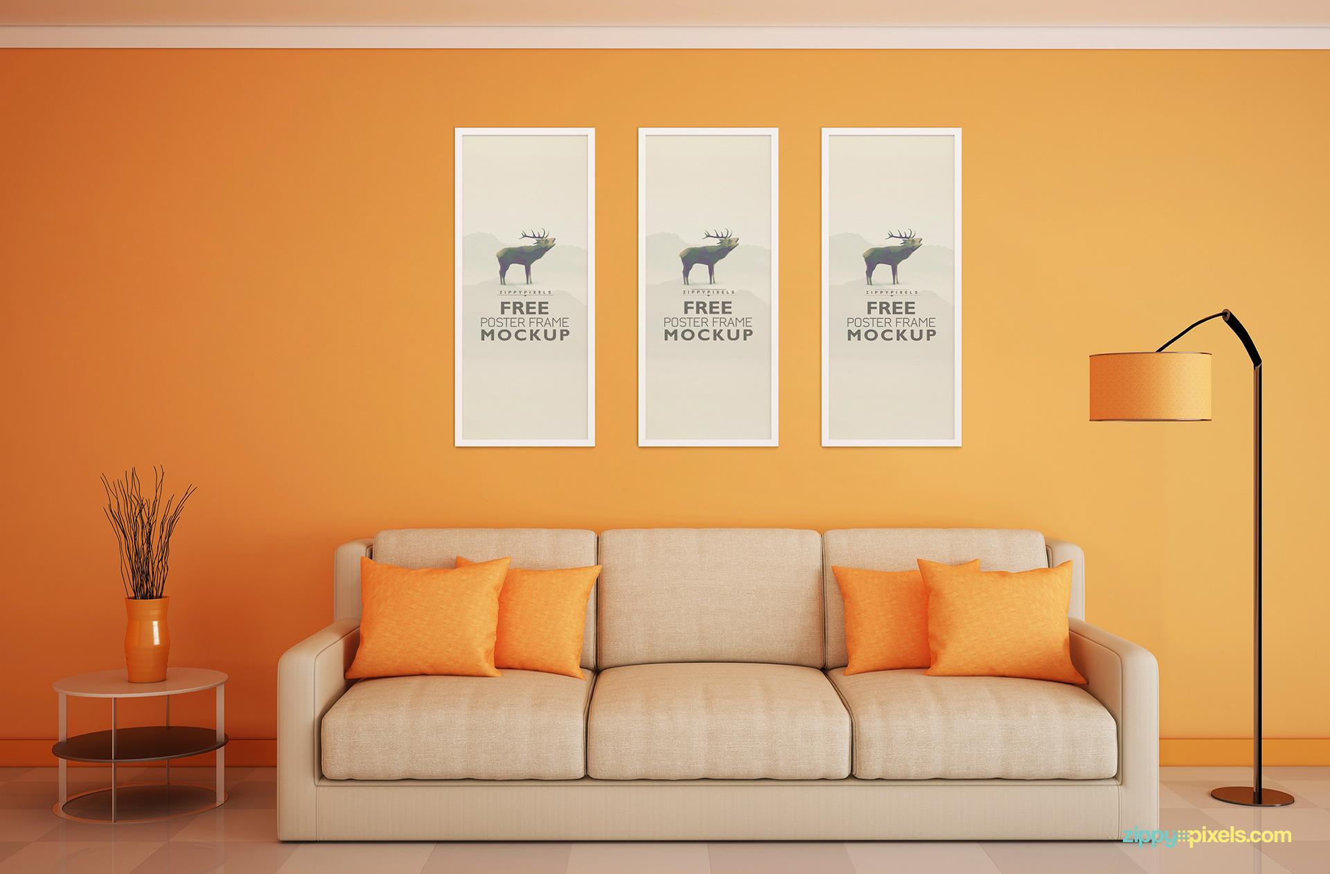 free-poster-frame-mockups-verticle