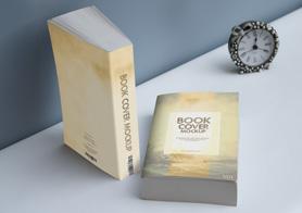 Softcover Book Mockups Volume 4 (14 Book Mockup PSDs)