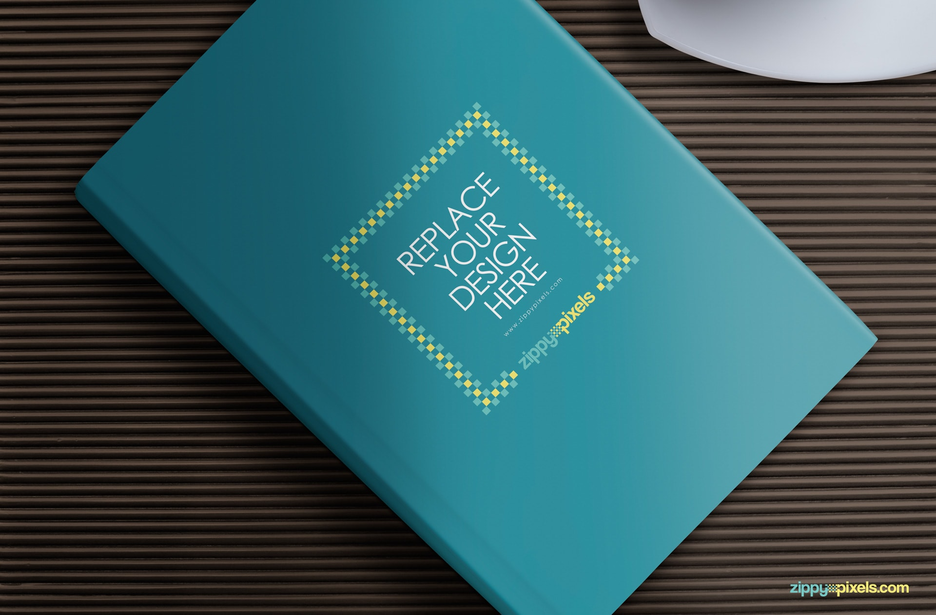 Book Cover Design Psd ~ Free book mockup for hardcover designs zippypixels