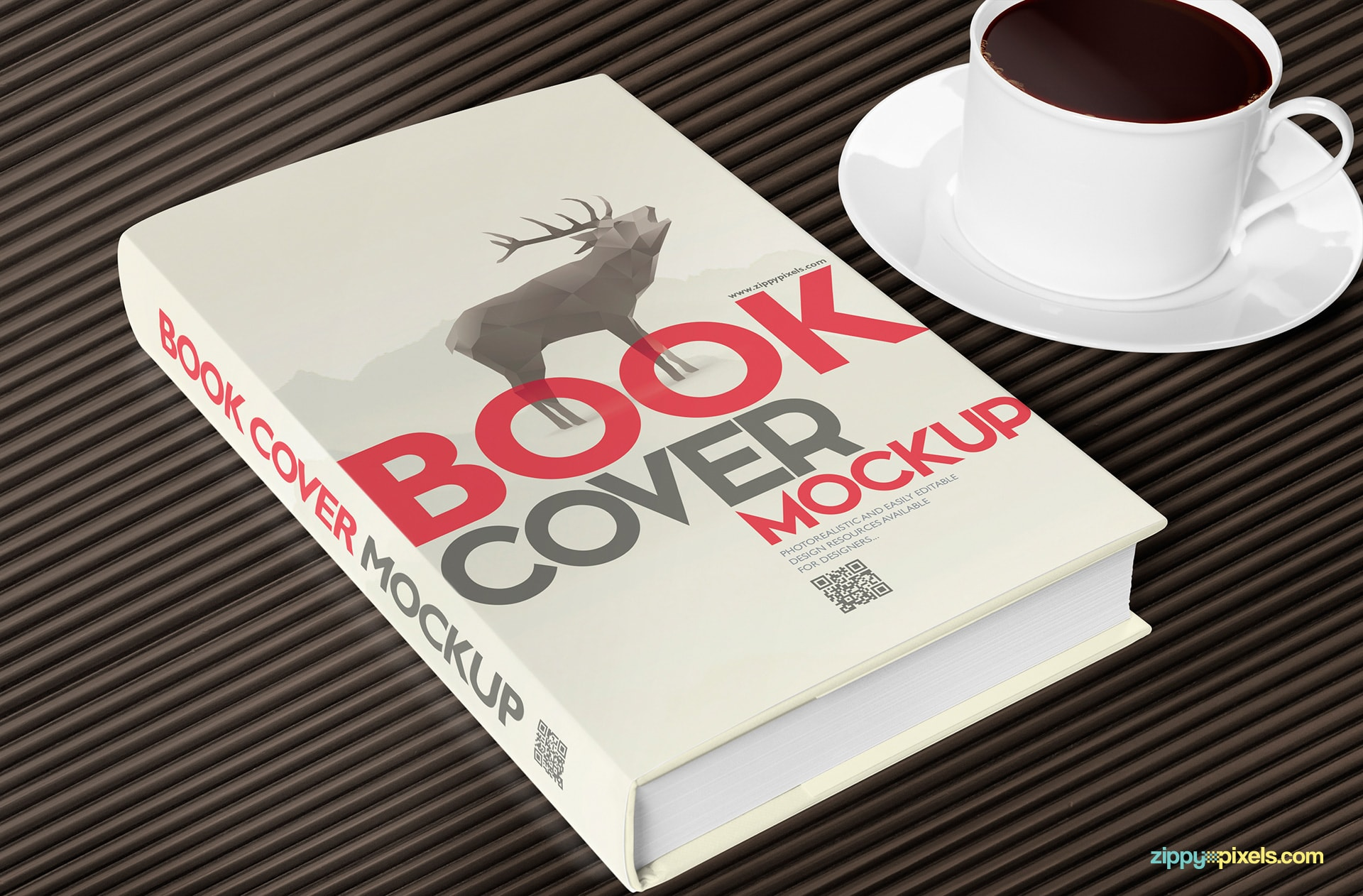 hard-cover-book-mockup-with-coffee-cup-spine-view
