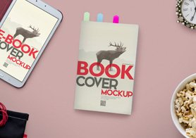 Customizable-Book-Cover-Mockups-Customizable-Backgrounds-Thmbnail
