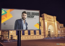 Outdoor Advertising Mockups Volume 2 (14 Billboard Mockup PSDs)