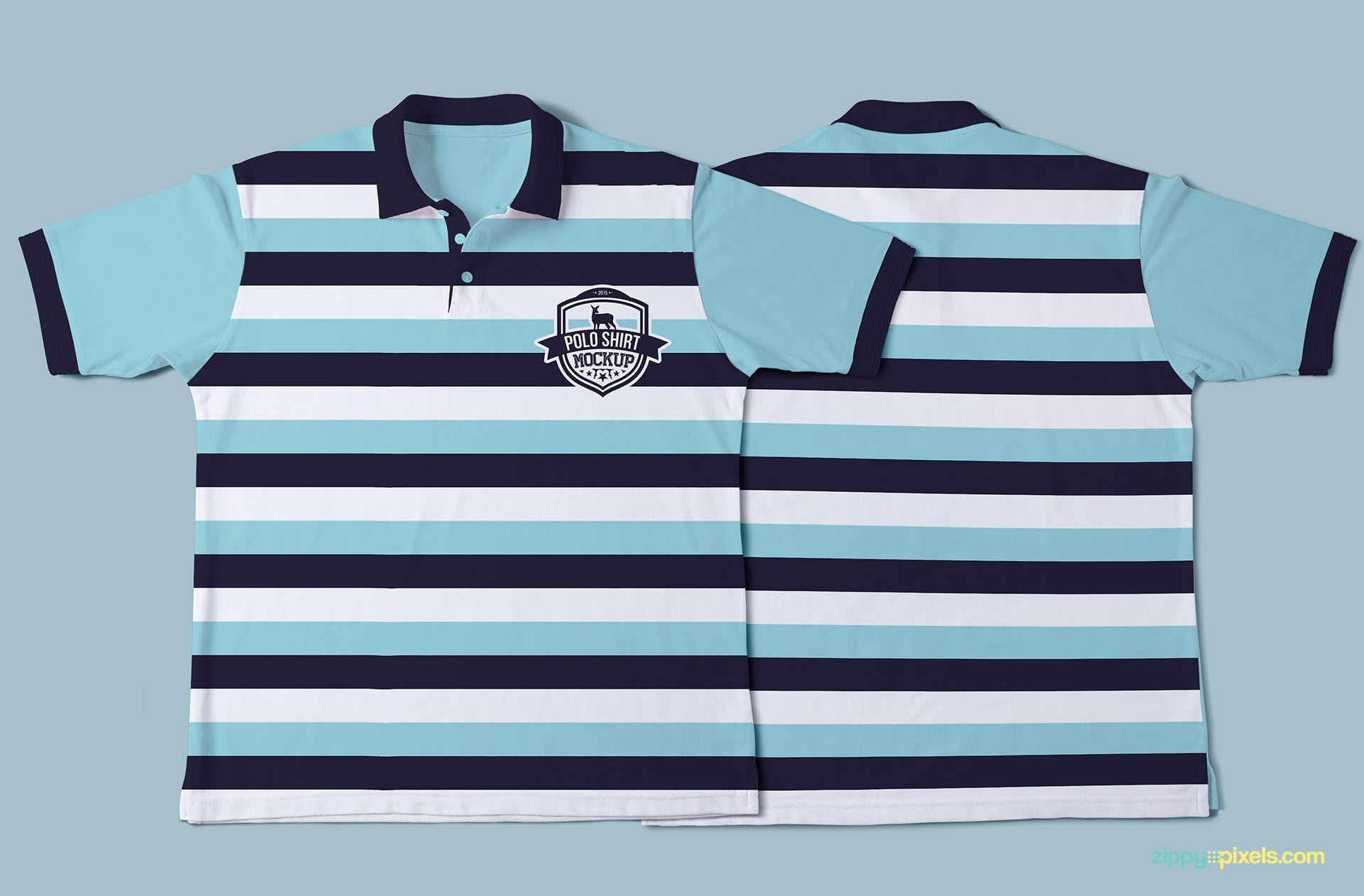 Amazing polo shirt mockup