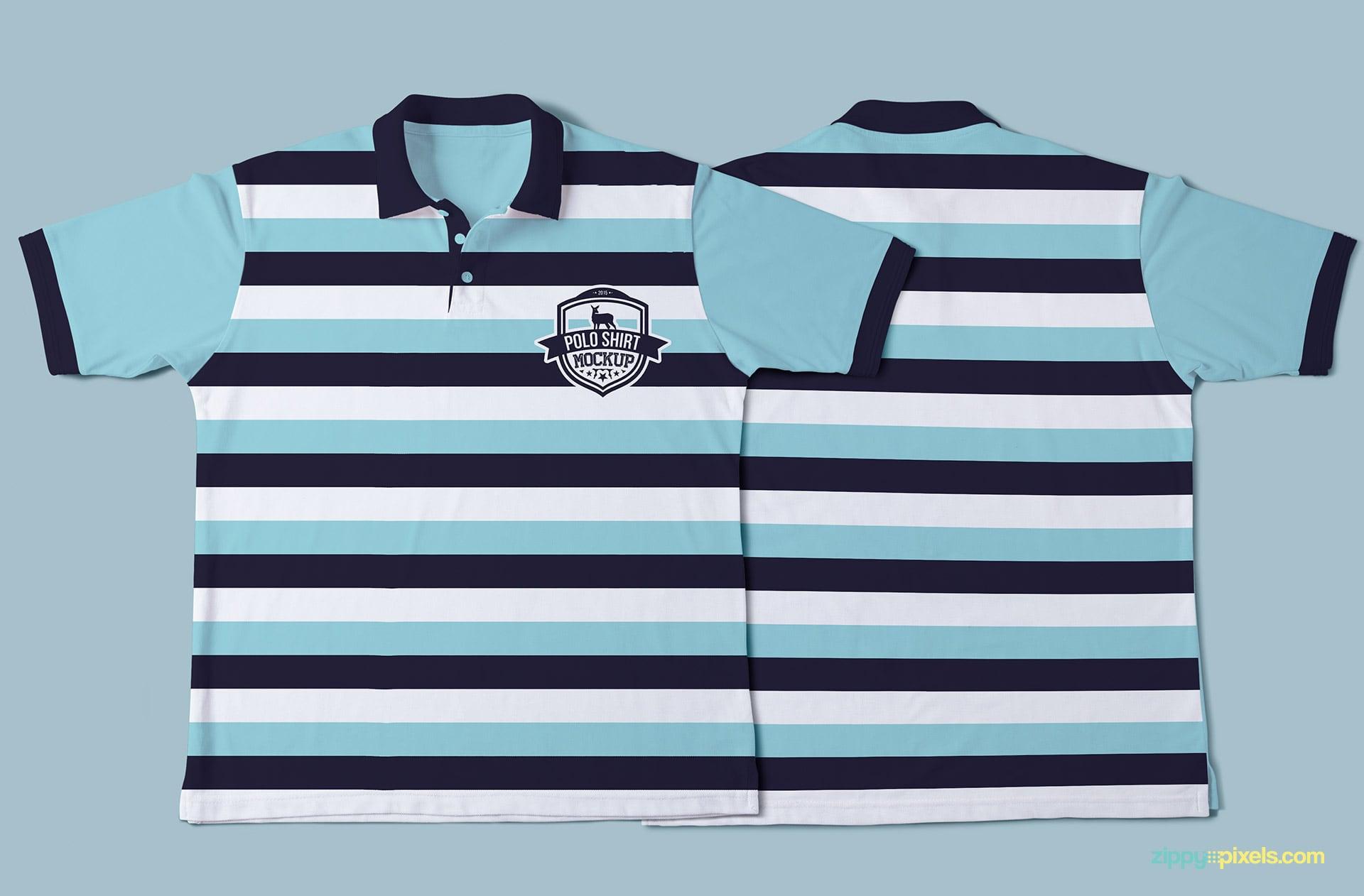 Amazing polo shirt mockup