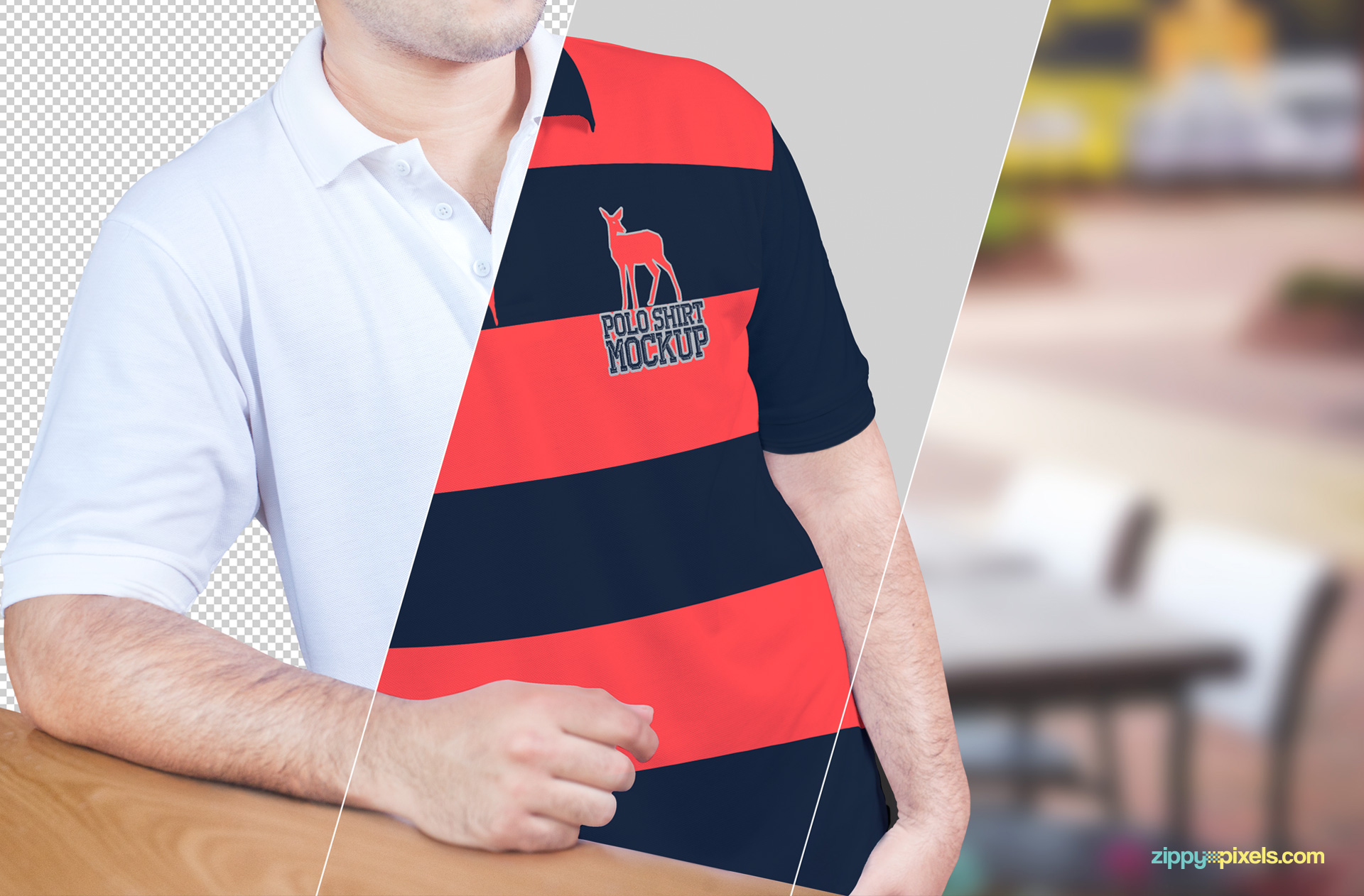 Customize, edit and present your polo shirt designs freely and confidently