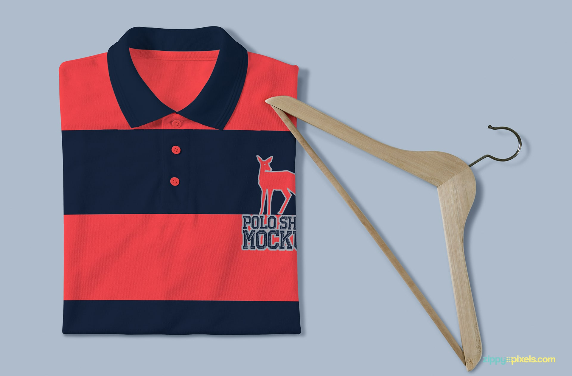 Make your designs standout with our polo shirt PSD mockups