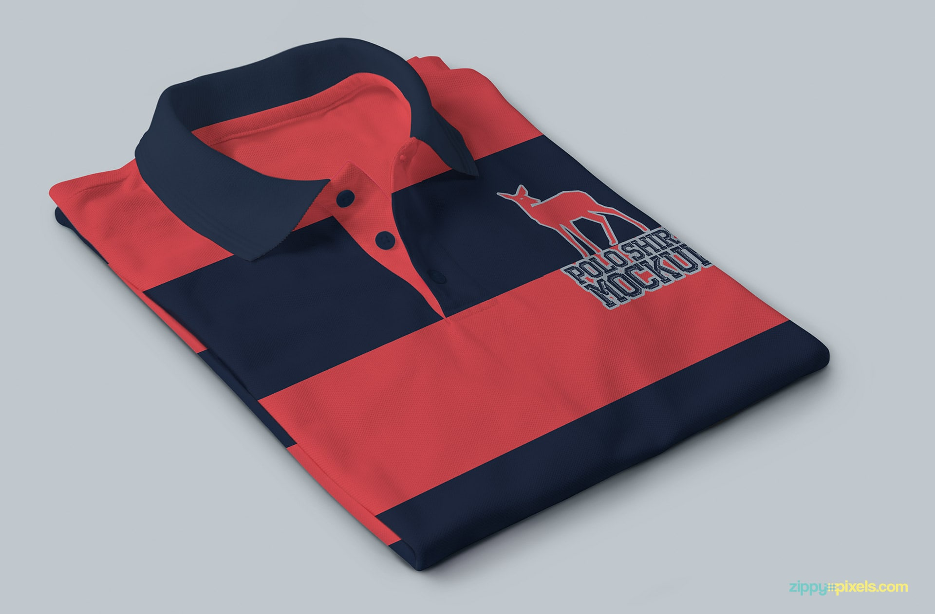 13 exceptional polo shirt mockups for your shirt designs for Free polo shirt mockup