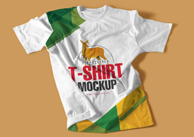 13 Multipurpose T-shirt PSD Mockups Vol.2